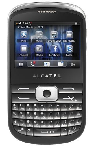 Productafbeelding van de Alcatel One Touch 819 Soul Black