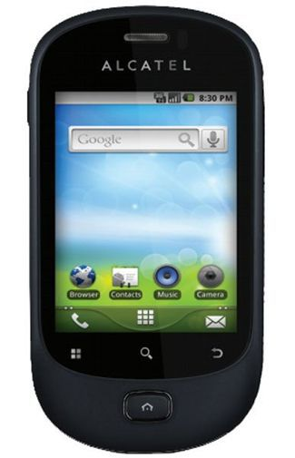 Productafbeelding van de Alcatel One Touch 908 Black