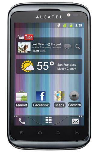 Productafbeelding van de Alcatel One Touch 991D Black