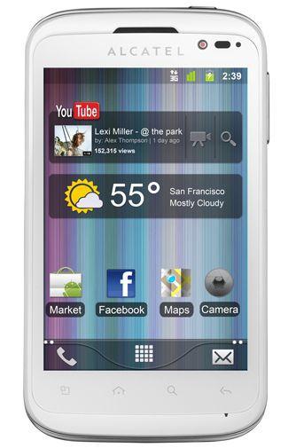Productafbeelding van de Alcatel One Touch 991D White