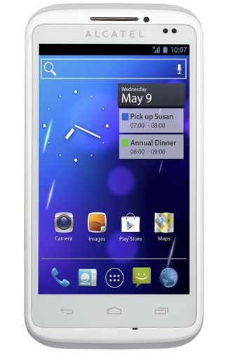 Productafbeelding van de Alcatel One Touch 993D White