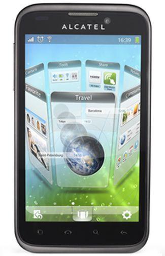 Productafbeelding van de Alcatel One Touch 995 Black