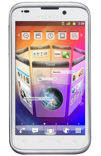 Productafbeelding van de Alcatel One Touch 995 White