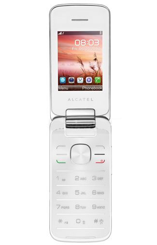 Productafbeelding van de Alcatel One Touch 2010D White