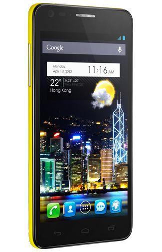 Productafbeelding van de Alcatel OneTouch Idol Ultra 6033 Yellow