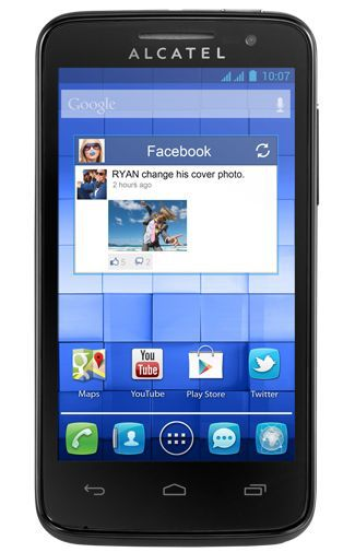 Productafbeelding van de Alcatel One Touch M Pop 5020D Black