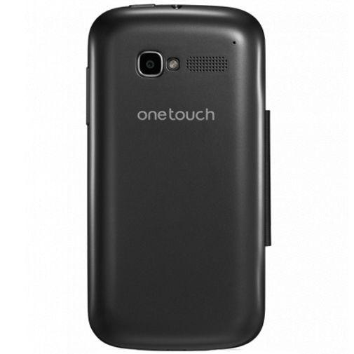 Productafbeelding van de Alcatel One Touch Pop C5 Flip Cover Grey