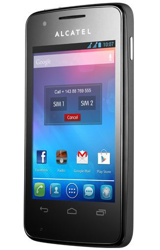 Productafbeelding van de Alcatel One Touch S Pop 4030D Black