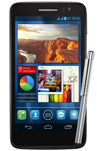 Productafbeelding van de Alcatel One Touch Scribe HD 8008D Black