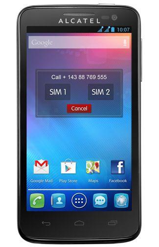 Productafbeelding van de Alcatel OneTouch X Pop 5035D Black