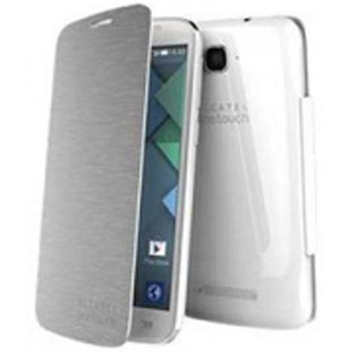 Productafbeelding van de Alcatel Flipcover Pop C7 Silver