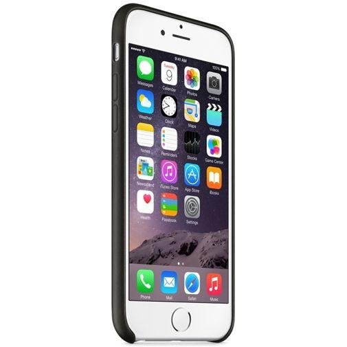 Productafbeelding van de Apple Leather Case Black iPhone 6/6S