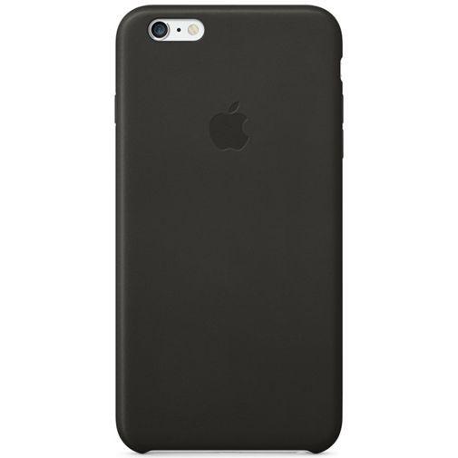 Productafbeelding van de Apple Leather Case Black iPhone 6 Plus/6S Plus