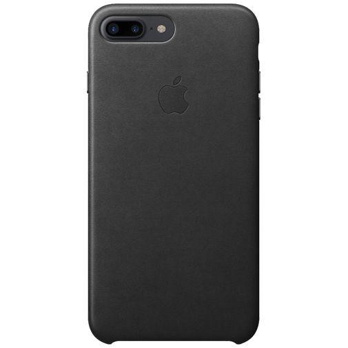 Produktimage des Apple Leder Case Schwarz iPhone 7 Plus/8 Plus