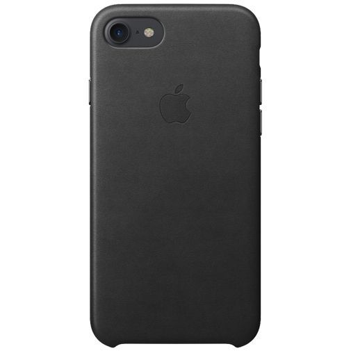 Productafbeelding van de Apple Leather Case Black iPhone 7/8/SE 2020