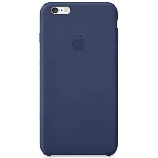 Productafbeelding van de Apple Leather Case Blue iPhone 6 Plus/6S Plus