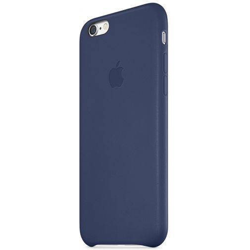 Productafbeelding van de Apple Leather Case Blue iPhone 6/6S