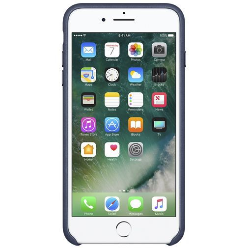 Productafbeelding van de Apple Leather Case Midnight Blue iPhone 7 Plus/8 Plus