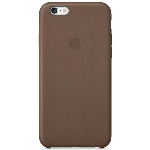 Productafbeelding van de Apple Leather Case Brown iPhone 6 Plus/6S Plus