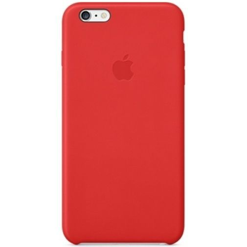 Productafbeelding van de Apple Leather Case Red iPhone 6 Plus/6S Plus