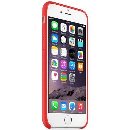 Productafbeelding van de Apple Leather Case Red iPhone 6/6S