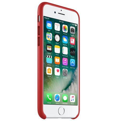 Productafbeelding van de Apple Leather Case Red iPhone 7/8