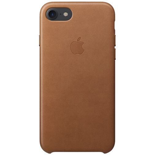 Productafbeelding van de Apple Leather Case Saddle Brown iPhone 7/8