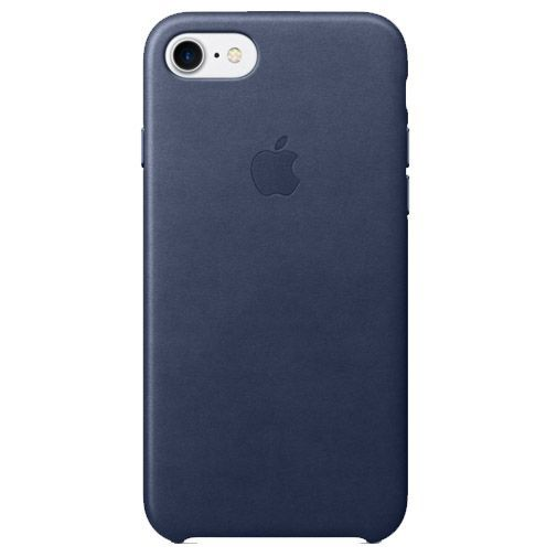 Productafbeelding van de Apple Leather Case Midnight Blue iPhone 7/8
