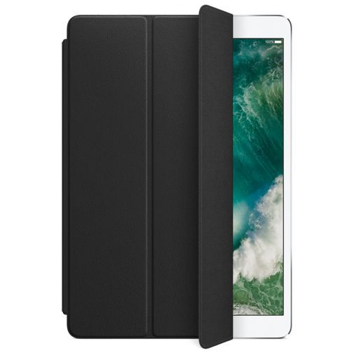 Productafbeelding van de Apple Leather Smart Cover Black iPad Pro 2017 10.5