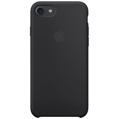 Produktimage des Apple Silikon Case Schwarz iPhone 7/8/SE 2020