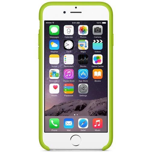 Productafbeelding van de Apple Silicone Case Green iPhone 6/6S