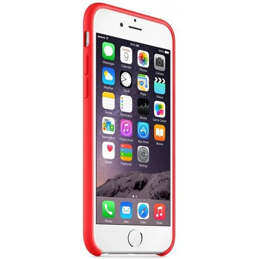 Productafbeelding van de Apple Silicone Case Red iPhone 6/6S