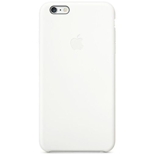 Productafbeelding van de Apple Silicone Case White iPhone 6 Plus/6S Plus