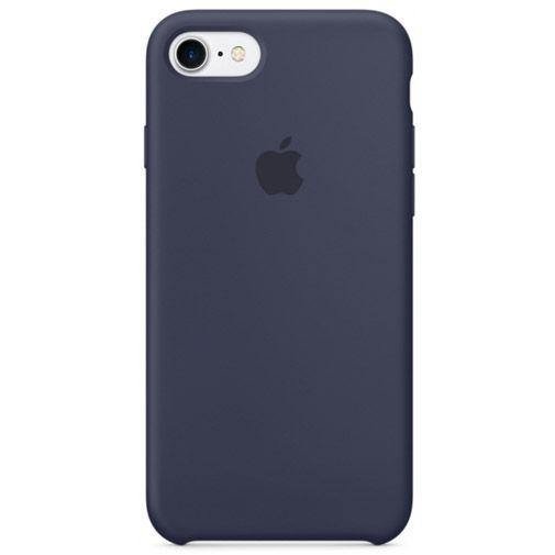 Productafbeelding van de Apple Silicone Case Midnight Blue iPhone 7/8
