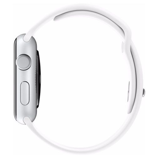 Productafbeelding van de Apple Watch Series 2 Sport 38mm Silver Aluminium (White Strap)