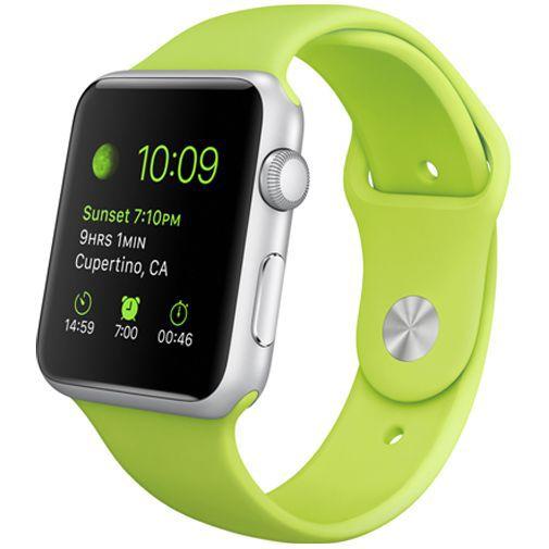 Productafbeelding van de Apple Watch Sport 42mm Green