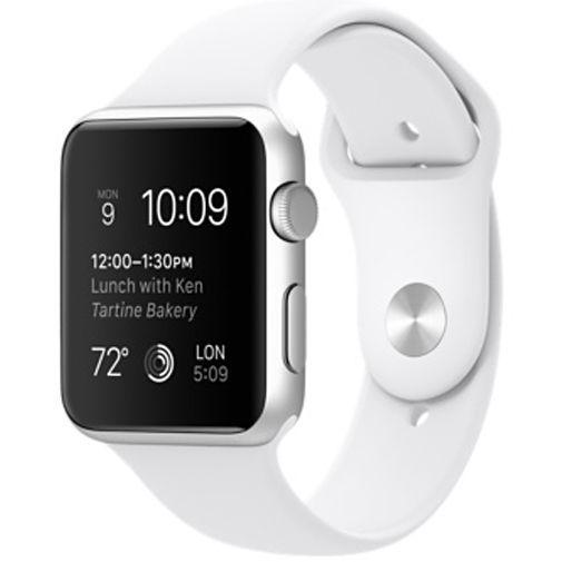 Productafbeelding van de Apple Watch Series 1 Sport 42mm White