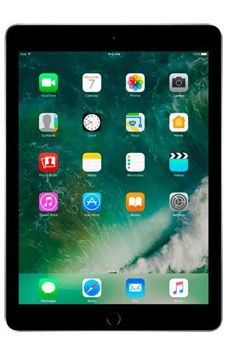 Productafbeelding van de Apple iPad 2017 WiFi 128GB Black