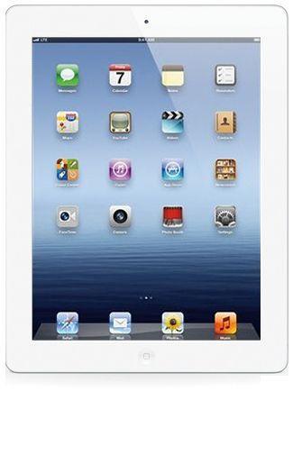 Productafbeelding van de Apple iPad 4 WiFi + 4G 64GB White