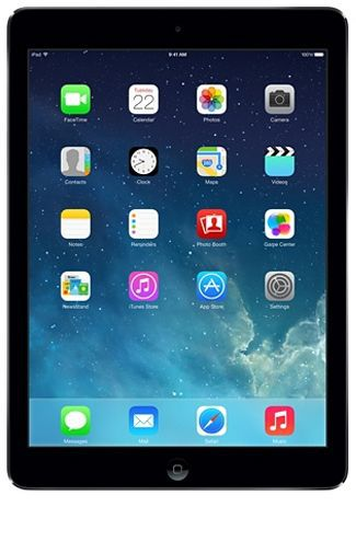 Productafbeelding van de Apple iPad Air WiFi + 4G 16GB Black