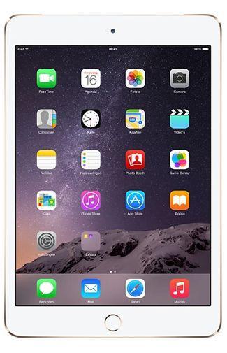 Productafbeelding van de Apple iPad Mini 3 WiFi + 4G 16GB Gold