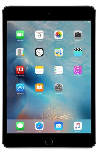Productafbeelding van de Apple iPad mini 4 WiFi + 4G 16GB Black