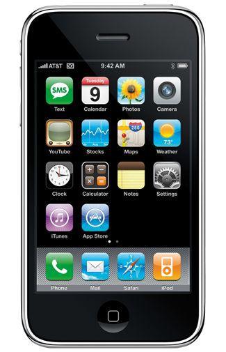 Productafbeelding van de Apple iPhone 3GS 8GB Black