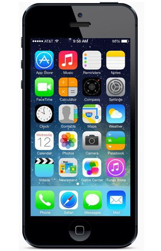 Productafbeelding van de Apple iPhone 5 Certified Pre-Owned 16GB Black