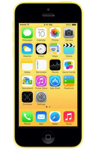 Productafbeelding van de Apple iPhone 5C 16GB Yellow