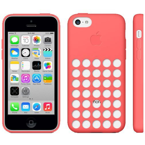Productafbeelding van de Apple iPhone 5C Soft Case Pink