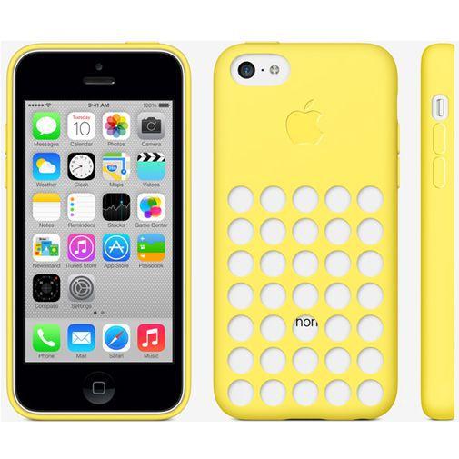 Productafbeelding van de Apple iPhone 5C Soft Case Yellow