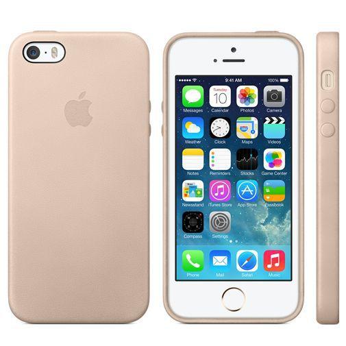 Productafbeelding van de Apple iPhone 5/5S Case Beige