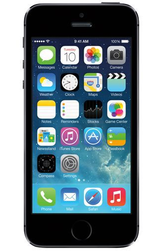 Productafbeelding van de Apple iPhone 5S 16GB Black Refurbished