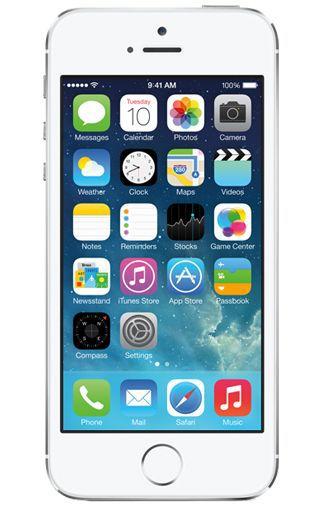 Productafbeelding van de Apple iPhone 5S 16GB Silver Refurbished